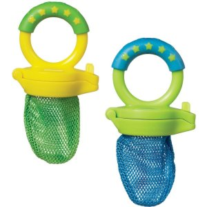 Baby Mesh teeters - These are awesome for starting solids with your baby.
