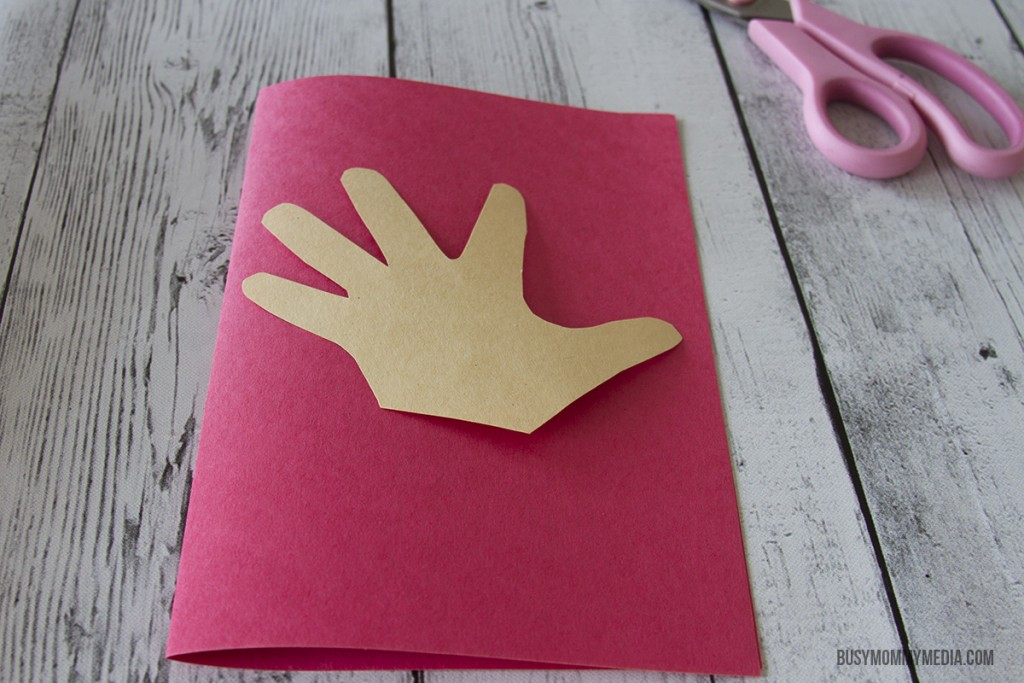 """ASL Craft """"I Love You"""" Card for Valentine's Day"""