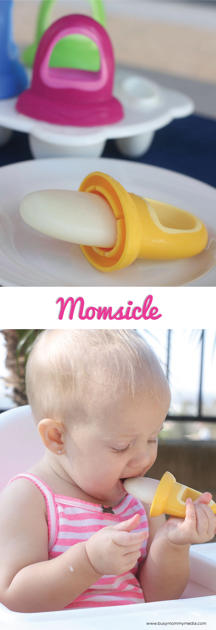 Momsicle - Breastmilk popsicles for babies! These are brilliant!!