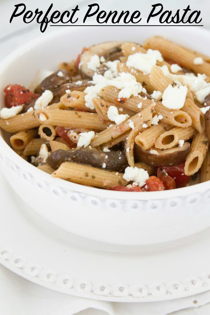 Perfect Penne Pasta - A Vegetarian Pasta Dish Everyone Will Love