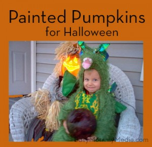 Halloween Craft for Preschoolers – Pumpkin Painting