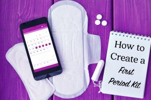 How to Create a First Period Kit