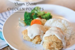 Cream Cheese Chicken Pockets