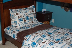 Decorating a Child's Bedroom – Old Time Rock and Roll