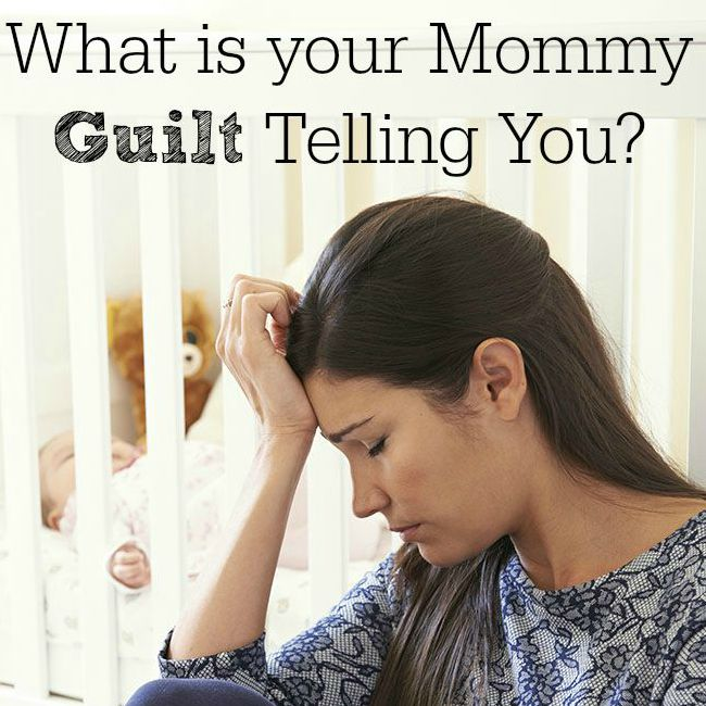 What is your Mommy Guilt Telling You? on BusyMommyMedia.com
