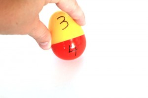 Easy Plastic Easter Egg Matching Game