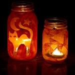 Homemade Halloween Lantern