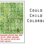 colorblind child