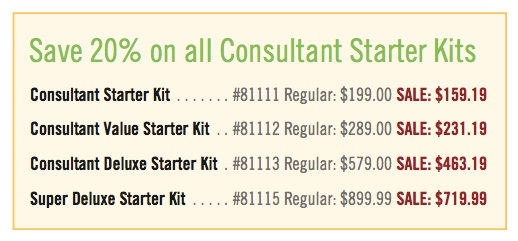 Thrive Consultant Kit Sale