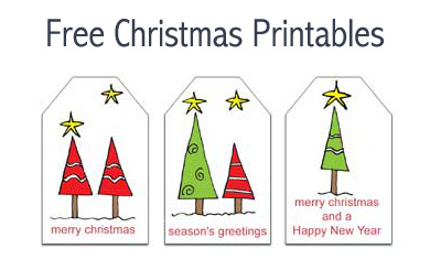 photo regarding Free Printable Gift Tags Christmas referred to as No cost Xmas Printables: Reward Tags and Notepaper with