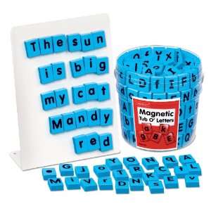 Lakeshore Magnetic Letter Tiles