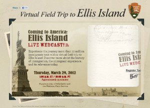 Homeschooling: Free LIVE Virtual Field Trip to Ellis Island