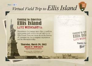 Homeschooling: Free LIVE Virtual Field Trip to Ellis Island