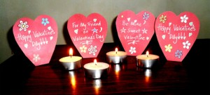 Free Valentine's Printables and Craft Ideas: Stand-Up Heart Cards