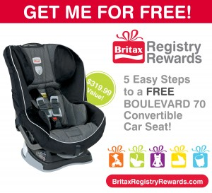 Britax Registry Rewards