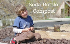 Soda Bottle Compost