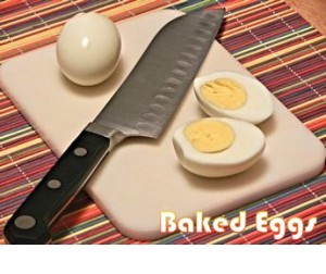 How to Make Baked Eggs for Easter