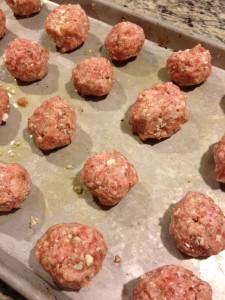 sausage meatballs