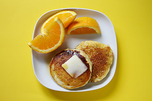 Orange Juice Pancakes