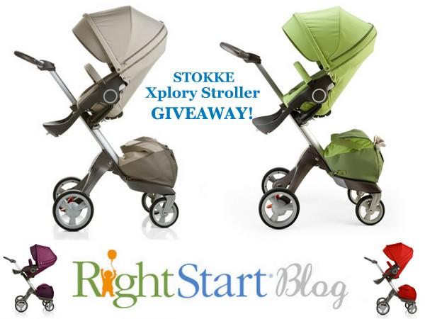 Stokke Xplory Stroller Giveaway
