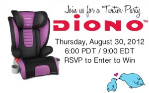 Diono Twitter Party