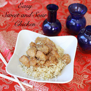 Easy Sweet and Sour Chicken on BusyMommyMedia.com