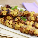 Hungry Girl Spicy Mustard Chicken Kebabs_Final