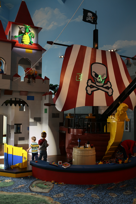 Explore the New Legoland Hotel!