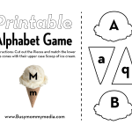 Preschool Alphabet Matching Game