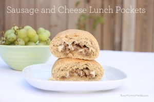 Recipe: Sausage and Cheese Lunch Pockets