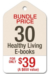 End of Summer Healthy Living E-Book Bundle