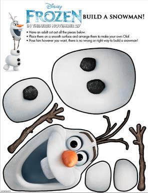 Disney Frozen Printable