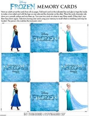 Frozen Printable