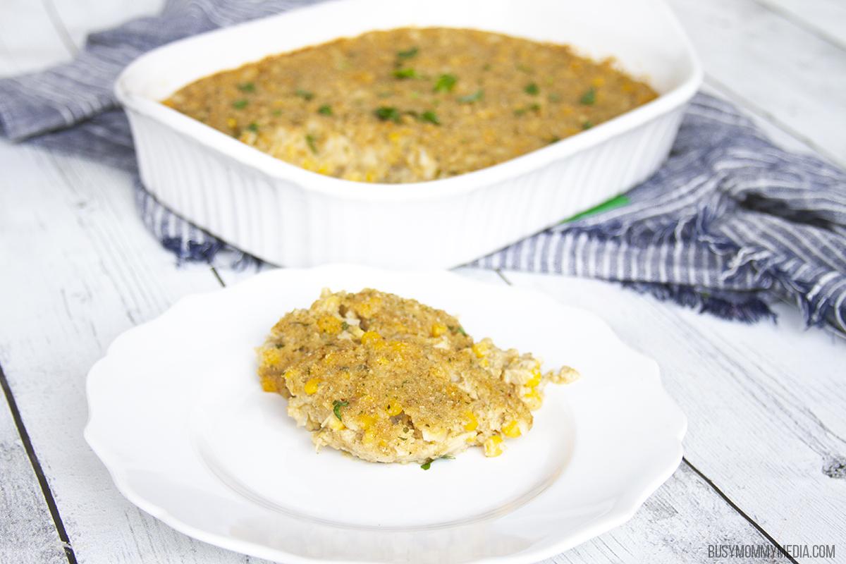Southern Corn Pudding Casserole