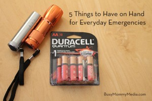 6 Things to Have on Hand for Everyday Emergencies