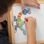 Create-A-Monster Magnetic Board