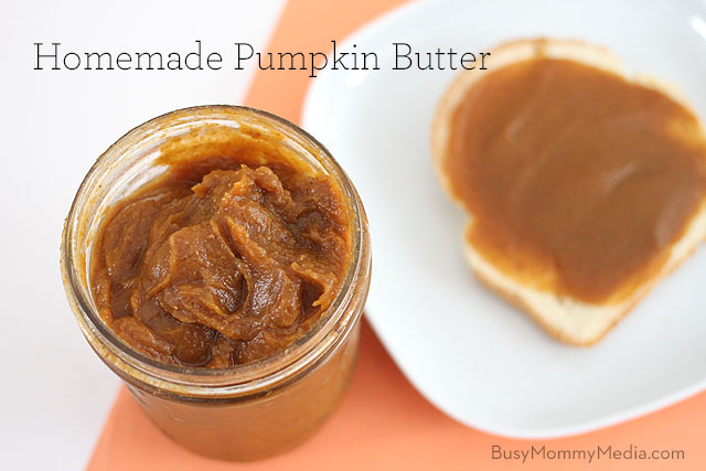 Recipe: Homemade Pumpkin Butter