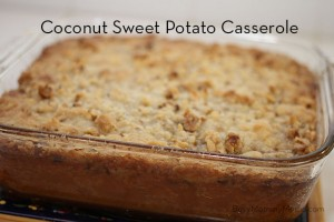 Recipe: Coconut Sweet Potato Casserole