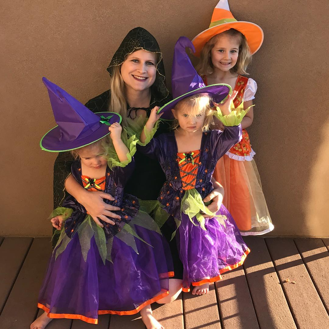 All the little witches at my house are ready forhellip