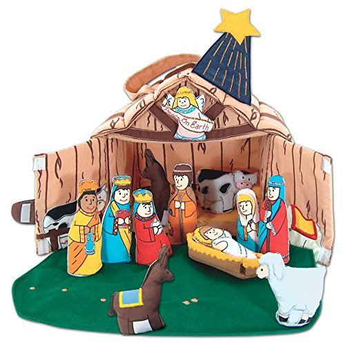 Fabric Nativity Set for Kids