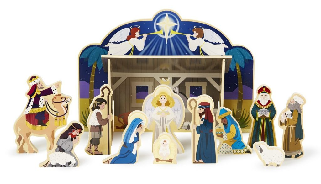 Melissa and Doug Kid-friendly nativity set