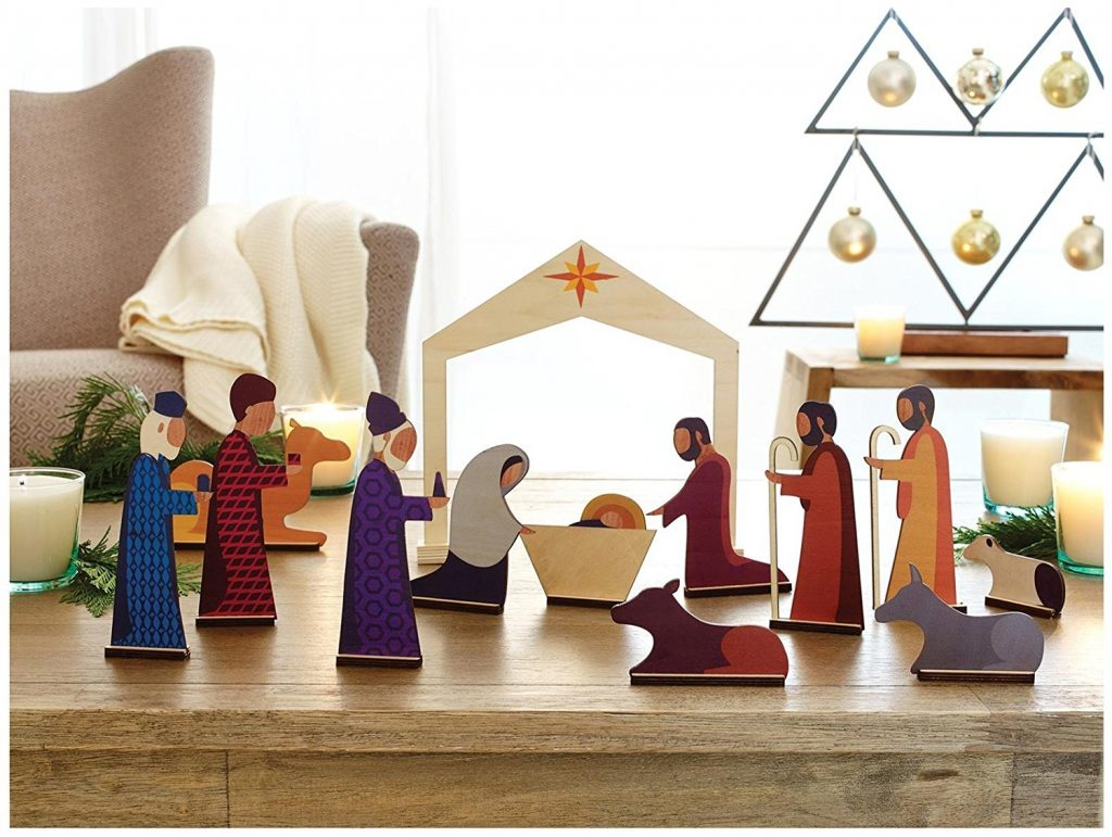 modern nativity for kids