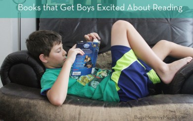 Books to get boys reading