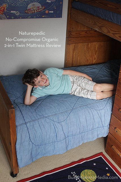 Naturepedic No-compromise Organic 2-in-1 Twin Mattress Review