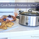 crockpot baked potato