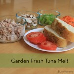 Garden Fresh Tuna Melt