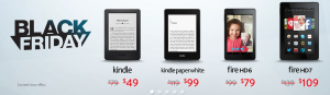 Deal Alert: Kindle Black Friday Sale