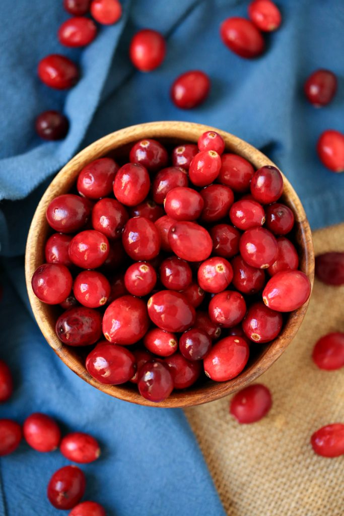 Cranberries for holiday baking