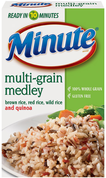 Minute Rice Multi-Grain Medley