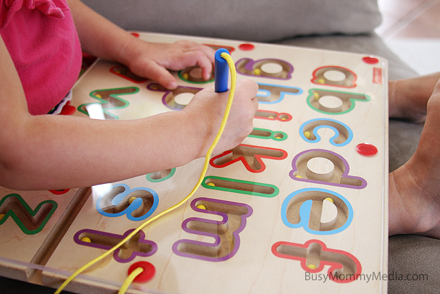 Giveaway Lakeshore Learning Magnetic Tracing Alphabet